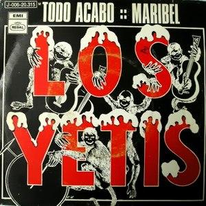Yetis, Los - Regal (EMI)J 006-20.315