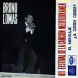 Lomas, Bruno - Regal (EMI)SCDL 69.006