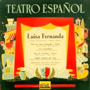 Teatro Español - Regal (EMI)SEBL 7.003