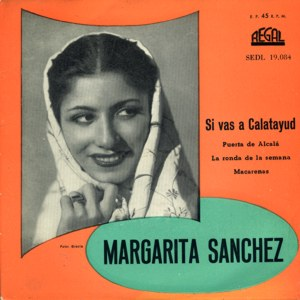 Sánchez, Margarita - Regal (EMI)SEDL 19.084
