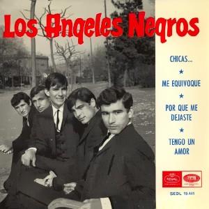 �ngeles Negros, Los - Regal (EMI)SEDL 19.441