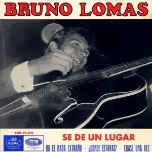 Lomas, Bruno - Regal (EMI)SEDL 19.470