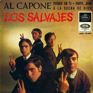 Salvajes, Los - Regal (EMI)SEDL 19.490