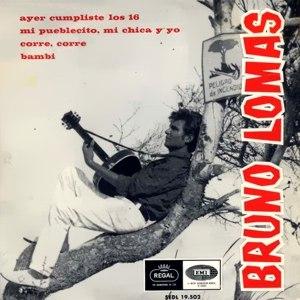 Lomas, Bruno - Regal (EMI)SEDL 19.502