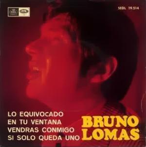 Lomas, Bruno - Regal (EMI)SEDL 19.514