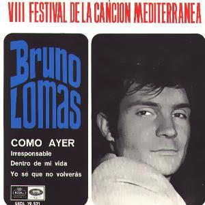Lomas, Bruno - Regal (EMI)SEDL 19.521