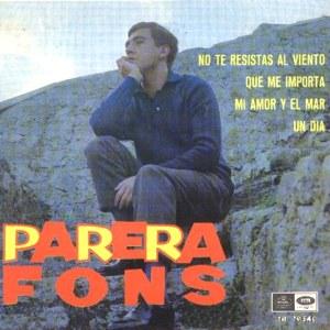 Parera Fons, Antoni - Regal (EMI)SEDL 19.540