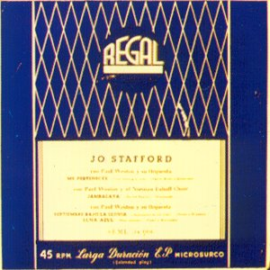 Stafford, Jo - Regal (EMI) SEML 34.006