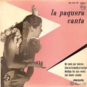 Paquera De Jerez, La - Philips421 214 PE