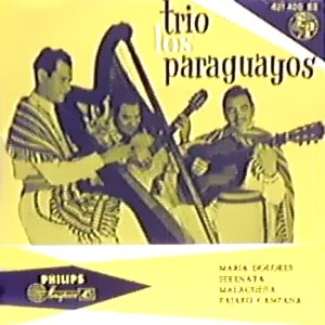 Paraguayos, Los - Philips421 400 BE
