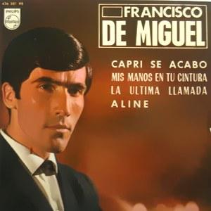 Miguel, Francisco De - Philips436 381 PE