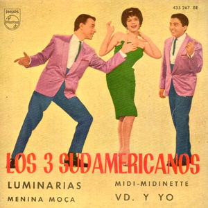 Tres Sudamericanos, Los - Philips 435 267 BE