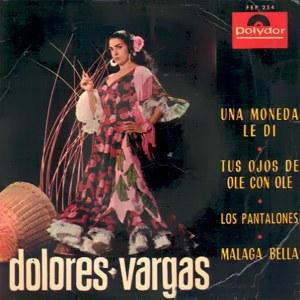 Vargas (La Terremoto), Dolores - Polydor254 FEP