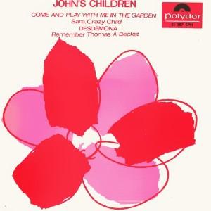 John´s Children - Polydor51 087 EPH