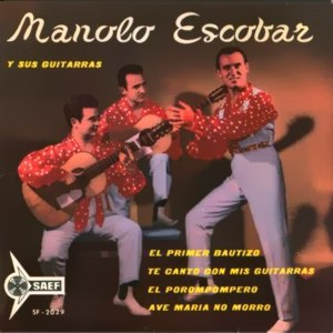 Escobar, Manolo - SAEF SF-2029