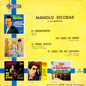 Manolo Escobar - SAEF SF-2029