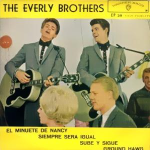 Everly Brothers, The - Warner Bross EP 39