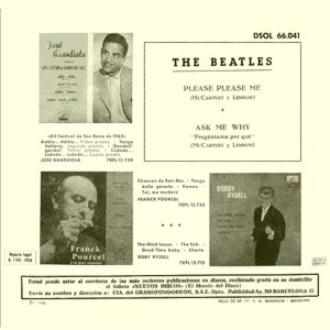 Beatles, The - Odeon (EMI) DSOL 66.041