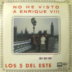 Cinco Del Este, Los - Odeon (EMI)DSOL 66.085