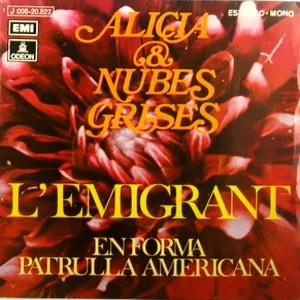 Alicia Y Nubes Grises - Odeon (EMI)J 006-20.822
