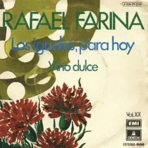 Farina, Rafael - Odeon (EMI)J 006-21.074
