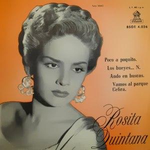 Quintana, Rosita - Odeon (EMI)BSOE 4.026