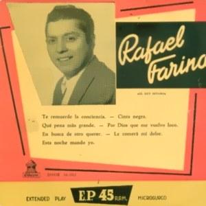 Farina, Rafael - Odeon (EMI)DSOE 16.083