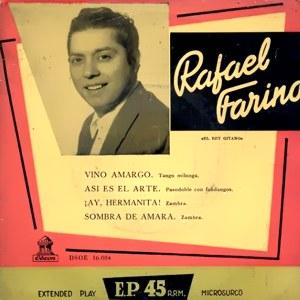 Farina, Rafael - Odeon (EMI)DSOE 16.084
