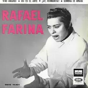 Rafael Farina - Odeon (EMI)DSOE 16.084