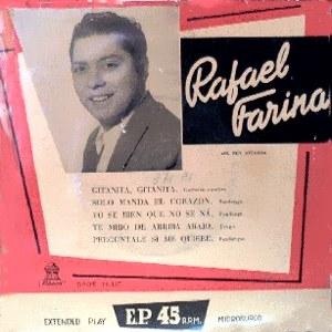 Farina, Rafael - Odeon (EMI)DSOE 16.127