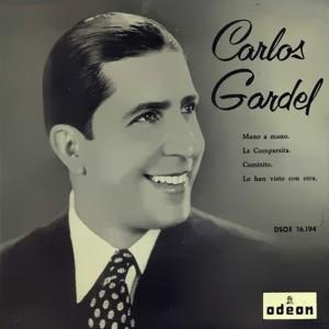 Carlos Gardel - Odeon (EMI)DSOE 16.194