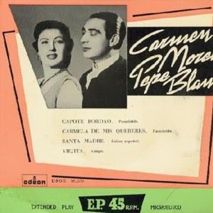 Pepe Blanco - Odeon (EMI)DSOE 16.236
