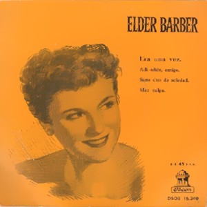 Barber, Elder - Odeon (EMI) DSOE 16.240