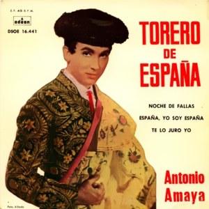 Amaya, Antonio - Odeon (EMI)DSOE 16.441