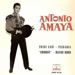 Amaya, Antonio - Odeon (EMI)DSOE 16.524