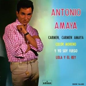 Amaya, Antonio - Odeon (EMI)DSOE 16.620