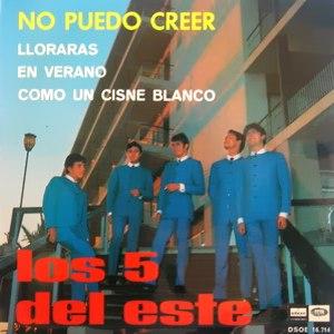Cinco Del Este, Los - Odeon (EMI)DSOE 16.714