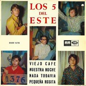Cinco Del Este, Los - Odeon (EMI)DSOE 16.723