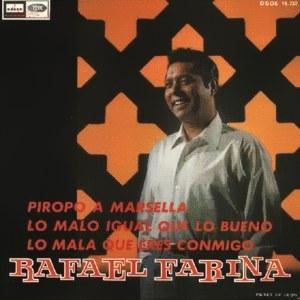 Farina, Rafael - Odeon (EMI)DSOE 16.732