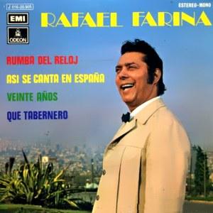 Farina, Rafael - Odeon (EMI)J 016-20.905