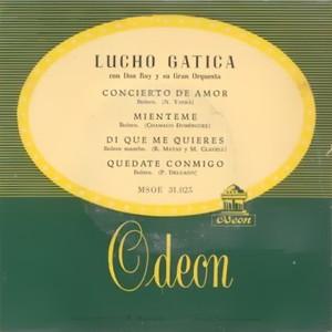 Gatica, Lucho - Odeon (EMI)MSOE 31.025