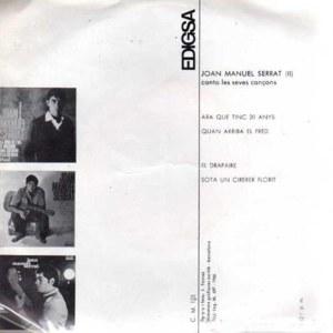 Joan Manuel Serrat - EdigsaCM 125