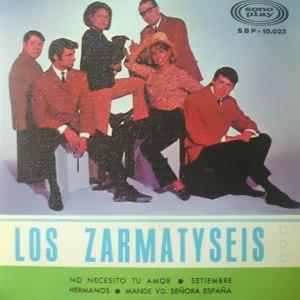 Zarmatyseis, Los