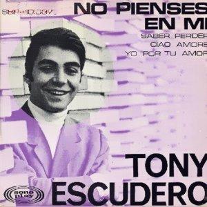 Escudero, Tony