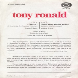 Tony Ronald - Movieplay SN-20518