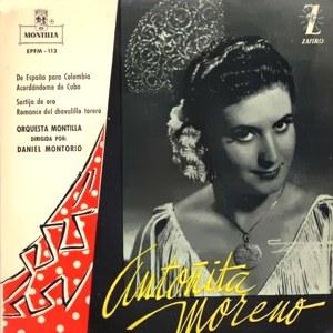 Moreno, Antoñita