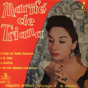 Triana, Marifé De - Montilla (Zafiro)EPFM-141