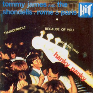 Tommy James And The Shondells - HIT CGE 601