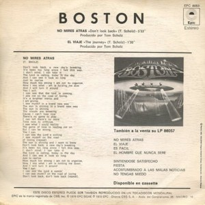 Boston - Epic (CBS)EPC 6653