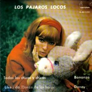 Pájaros Locos, Los - IberofónIB-45-1.219